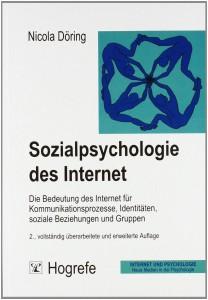 Buchcover von Döring (2003): Sozialpsychologie des Internet